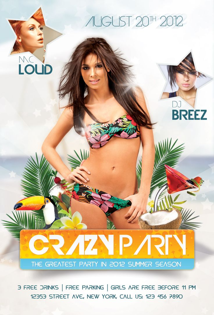 Poster design using photoshop cs5 - Photoshop Tutorial Create An Amazing Summer Flyer Design