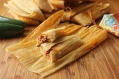 Authentic Homemade Tamales -YUM!