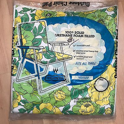 New Old stock Vintage Wellington Outdoor Chair Pad Still in Package!