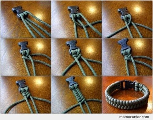 diy shoelace bracelet - Google Search