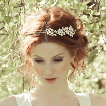Evelyn Vintage Side Tiara