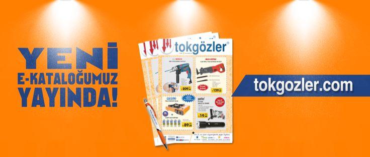 Yeni e-kataloğumuz yayında! Kataloğumuzu incelemek için; http://www.tokgozler.com/elektronik-insert  #katalog #turkiye #istanbul #bursa #tokgözler #indirim #kampanya #avantaj #firsat #hirdavat #elaletleri #sanayi