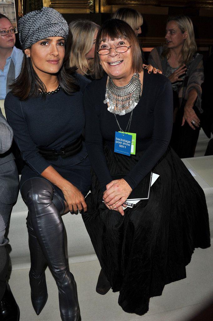 Hilary Alexander Photos: Stella McCartney - Paris Fashion Week Spring/Summer 2011 Front Row