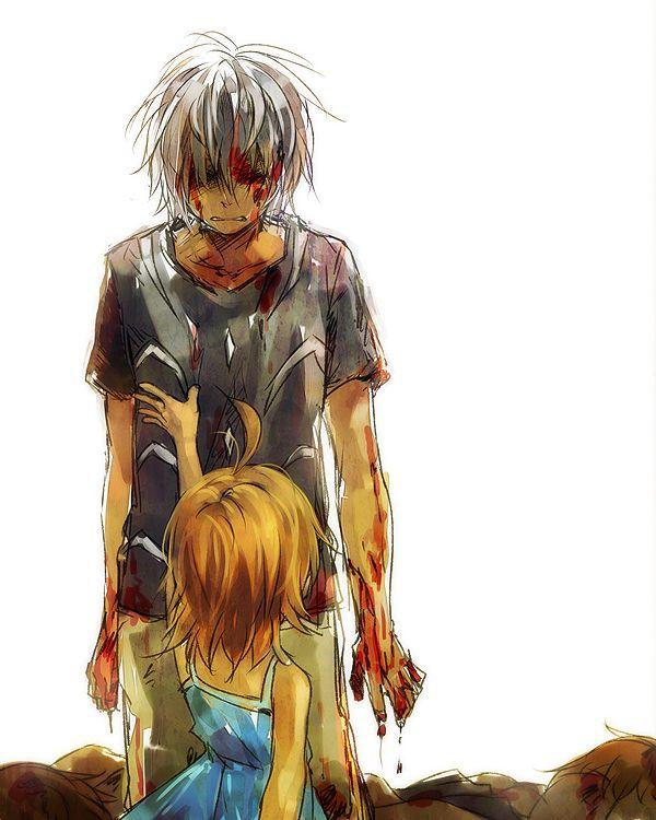 26 best accelerator images on pinterest anime boys - Dark anime couples ...