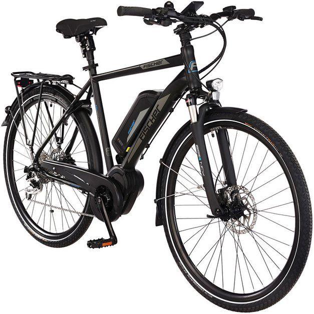 Fischer Fahrrader E Scooter Ioco 1 0 350 W 20 Km H Online Kaufen E Bike Trekking Fahrrad Motor