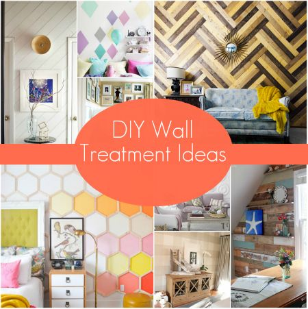 DIY Wall Treatment Ideas #homesdotcom #decorating #walltreatmentideas