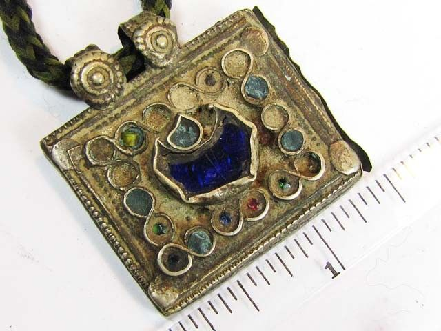 TRADITIONAL TIBETAN SILVER NECKLACE  56 CTS TR 871  FASHION ACCESSORY FROM JEWELERY-AUCTIONED.COM