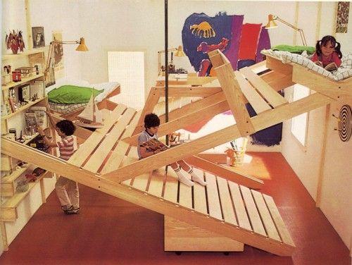 Clic clac foto ... una habitación infantil estimulante