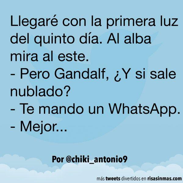 Te mando un WhatsApp. #humor #risa #graciosas #chistosas #divertidas