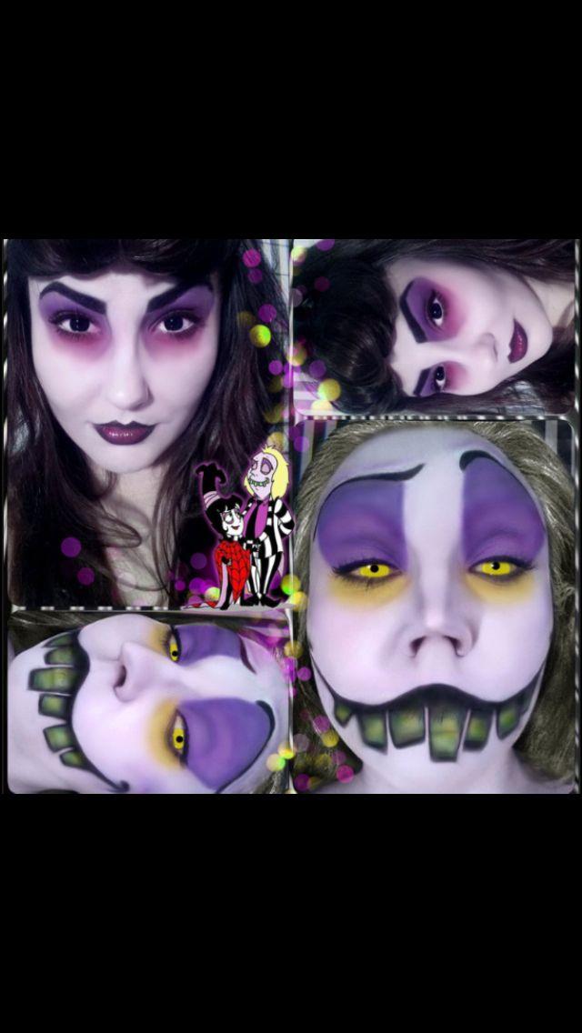 Beetlejuice makeup to die for!!
