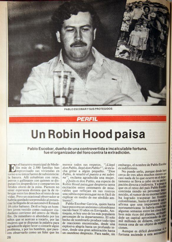 PABLO ESCOBAR REPRODUCCIONES REVISTA SEMANA MAYO 29 DE 2012
