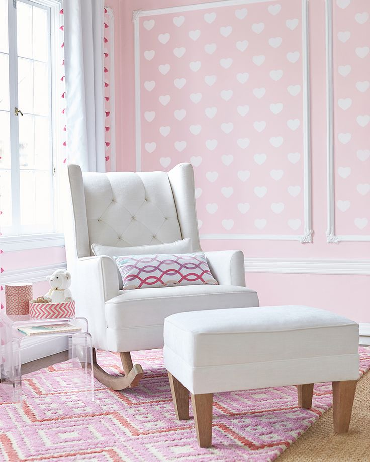 What We Love Most About The Tufted Wingback Rocking Chair Is That The Rocker  Rails Can