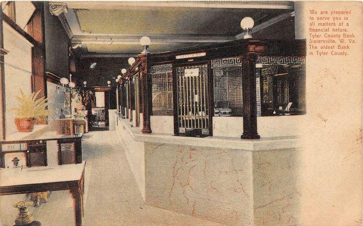 Interior Tyler Bank Sistersville