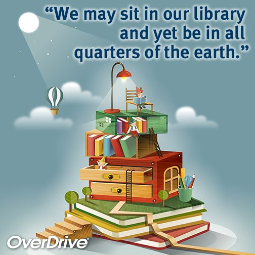 Check out our article for #ReadingRainbow about how you can take the library with you anywhere you travel! https://www.readingrainbow.com/site/blog/2015/07/16/how-to-take-the-library-with-you-wherever-you-go/: