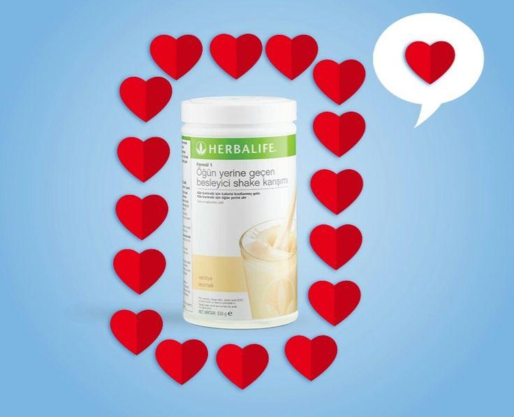 Kalplere ulaşan en güzel yemek, Herbalife Vanilya Aromalı Formül 1 Shake!  www.idealbeslen.com 0536 612 9009 Whatsapp #idealbeslen #kilokontrolyolu #herbalife #vanilya #shake #formül1 #yemek #güzel #muhteşem #form #diyet #yiyecek #kalp #ulaşan