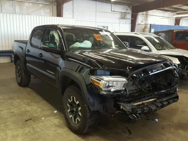 Salvage 2017 Toyota Tacoma Trd Awd Pickup For Sale | Salvage Title