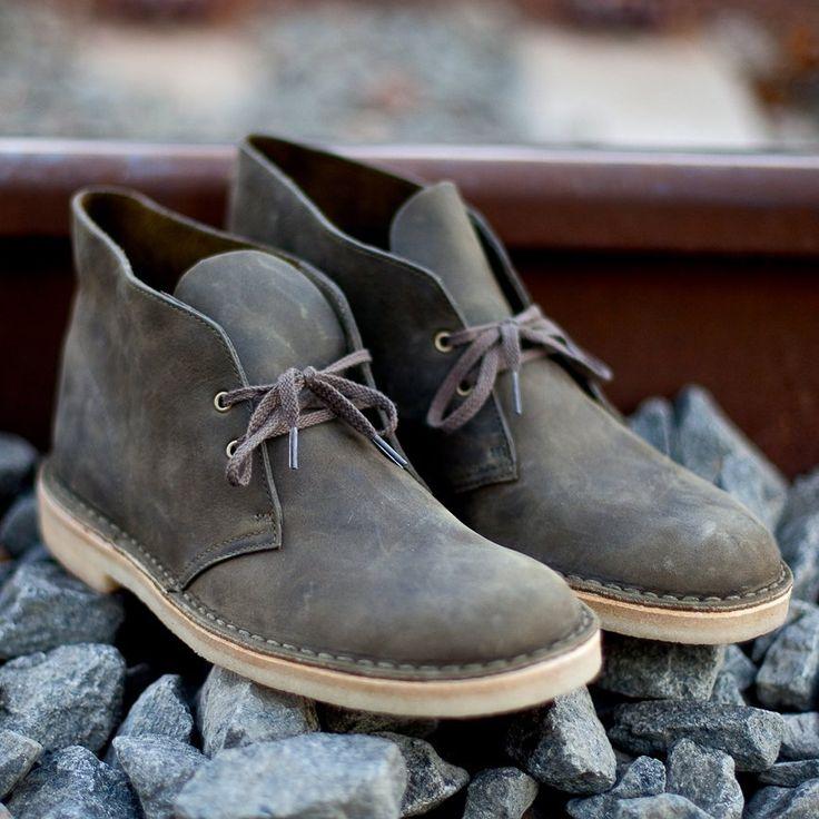 Grey Desert Boot by Clarks Originals