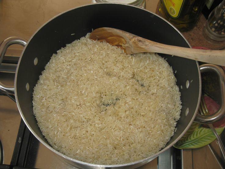 Cottura riso basmati per assorbimento