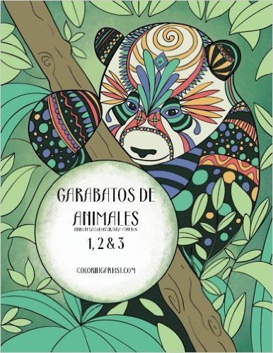 Garabatos de animales libro para colorear para adultos 1, 2 & 3 (Spanish Edition) - https://tryadultcoloringbooks.com/garabatos-de-animales-libro-para-colorear-para-adultos-1-2-3-spanish-edition/ - #AdultColoringBooks, #Animals