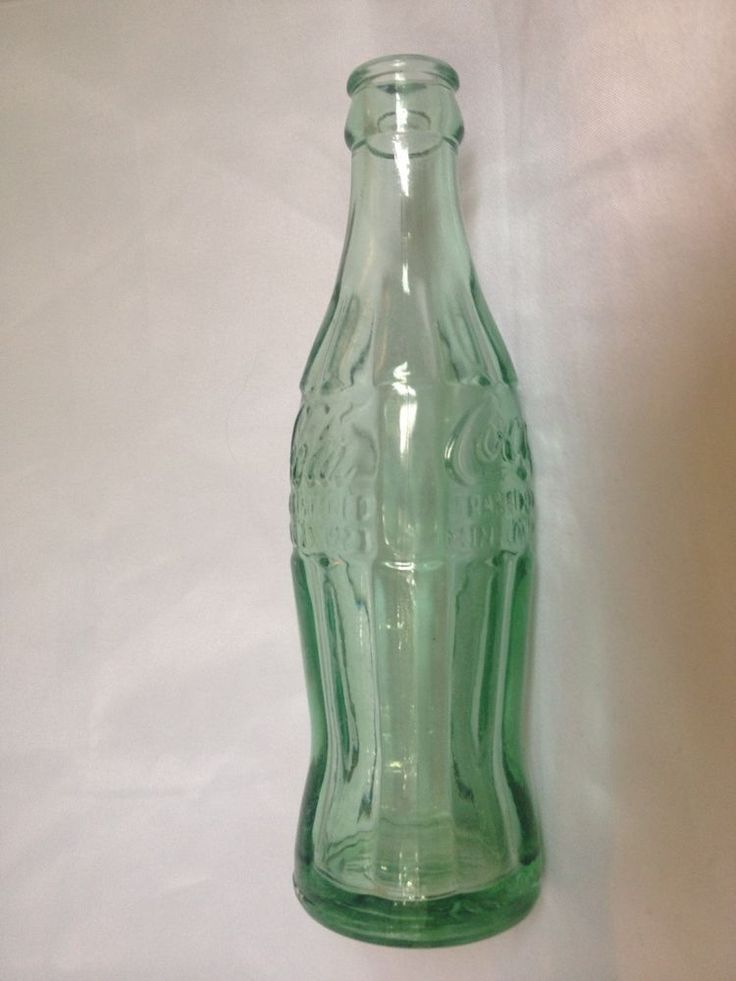 Coca Cola Hobbleskirt 6 Oz Pat D Dec 1923 Ga Green 89 Jg