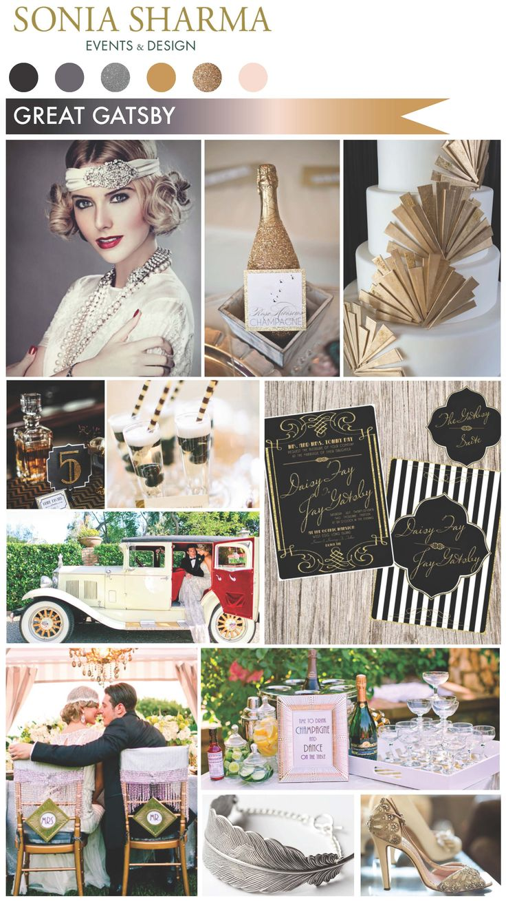 Wolf Trap Special Events loves the Great Gatsby themed decor trend! // wolftrap.org