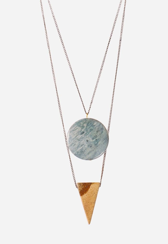 Setting Moon by  by Meghann SommerMoon Necklace