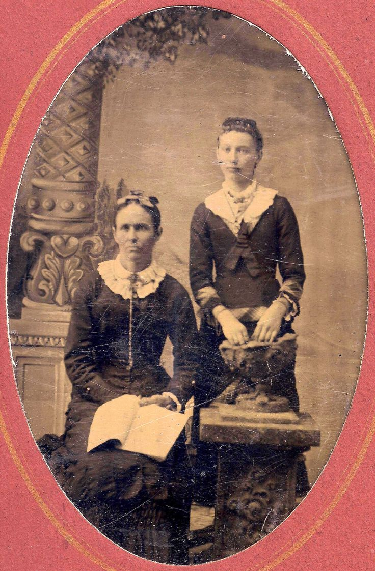 Catherine Antrim (left) was an immigrant from the city of Derry, officially Londonderry, County Londonderry also known as County Derry, Northern Ireland and the mother of legendary American Old West outlaw William Bonney also known as Billy the Kid. - Courtesy Jay McCarey Collection