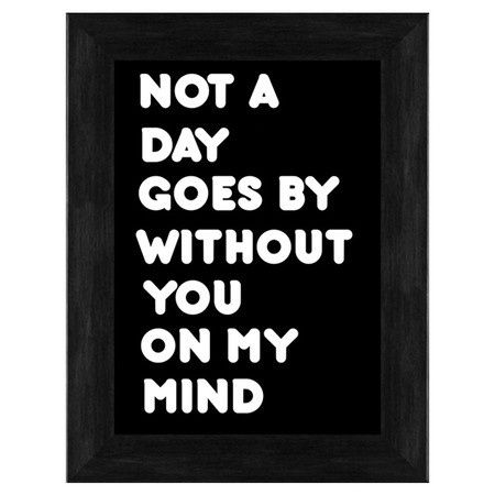 You On My Mind print
