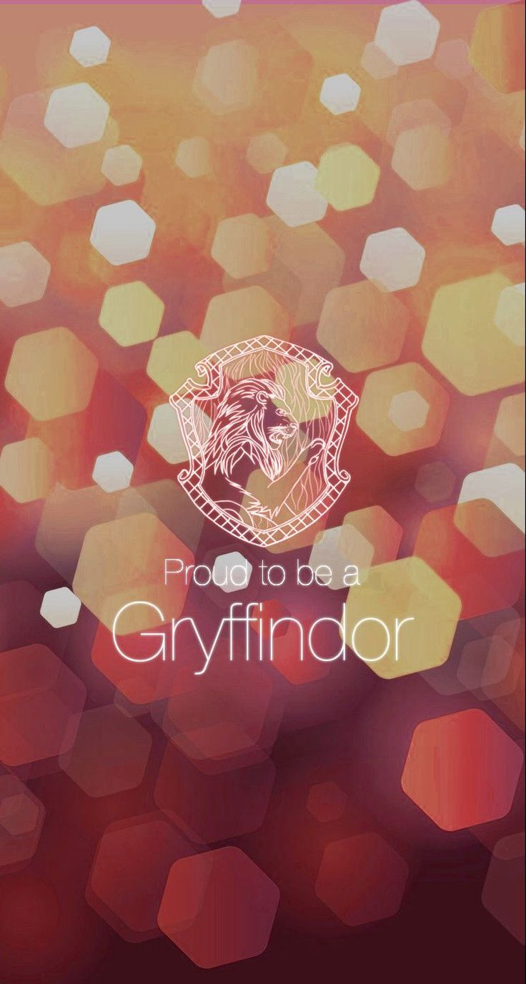 proud to be a gryffindor harry potter