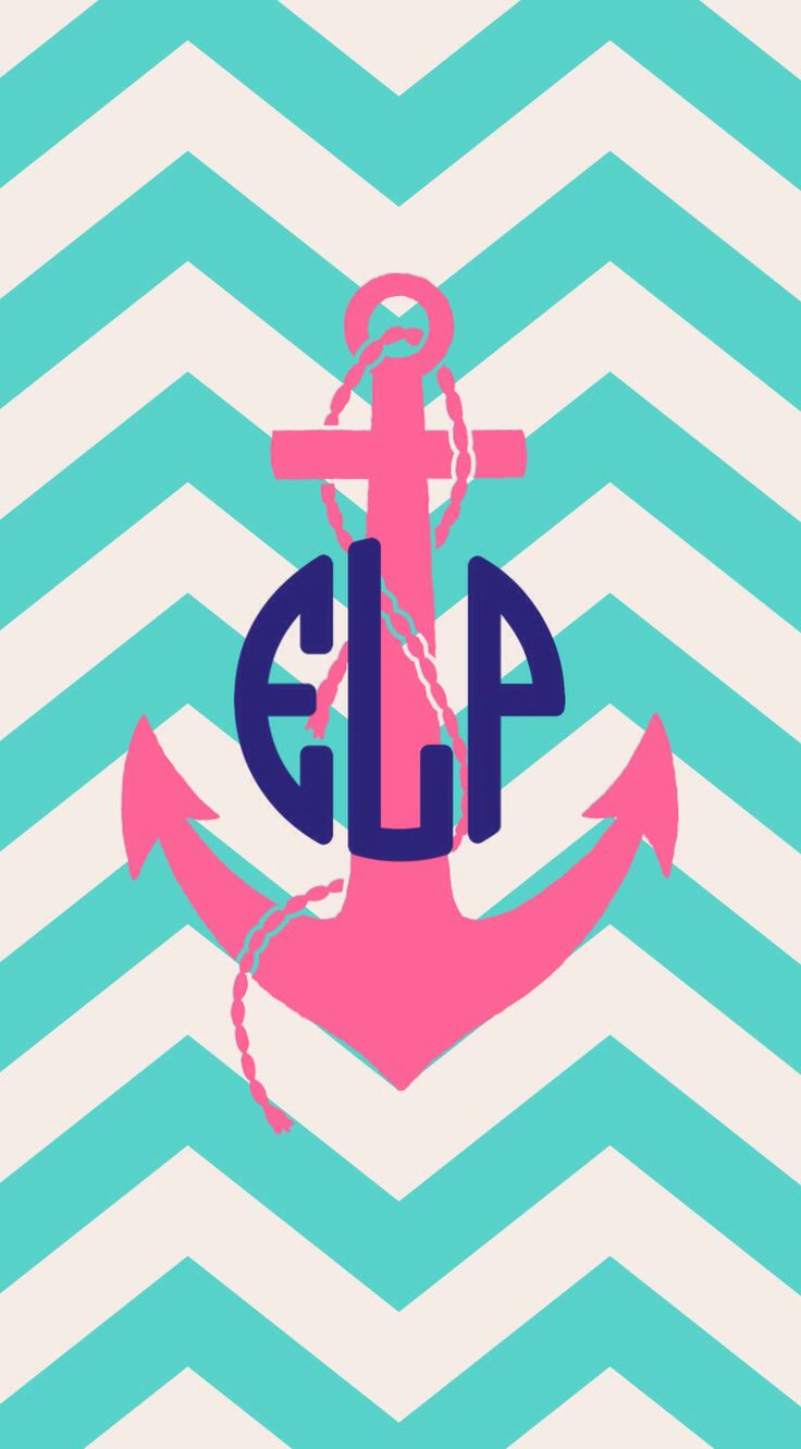 chevron initials wallpaper with o - photo #27
