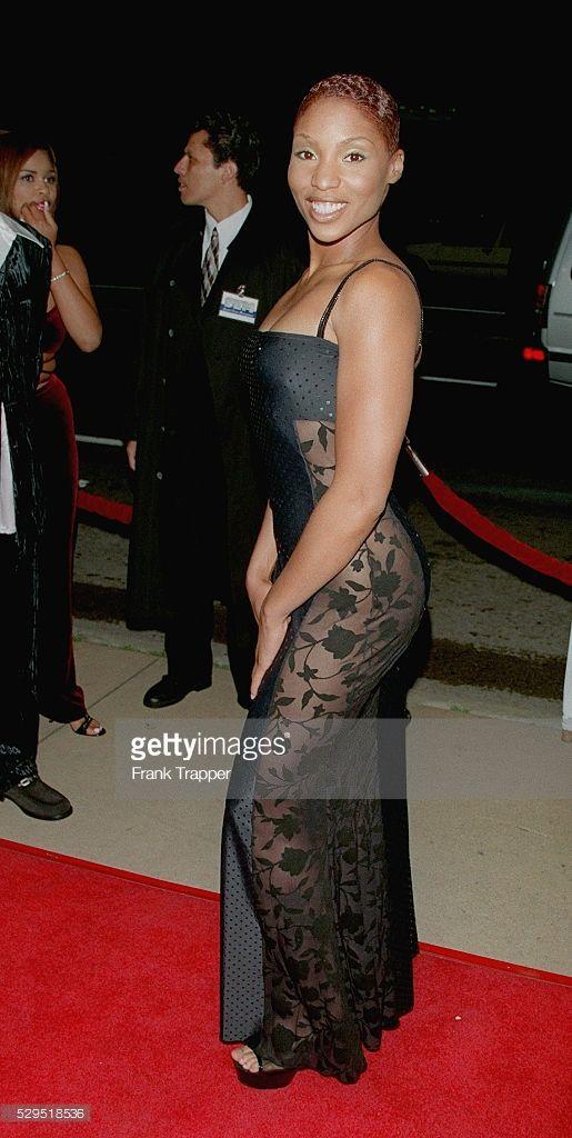 Adina Howard Arrives At The Cinerama Dome Beautiful