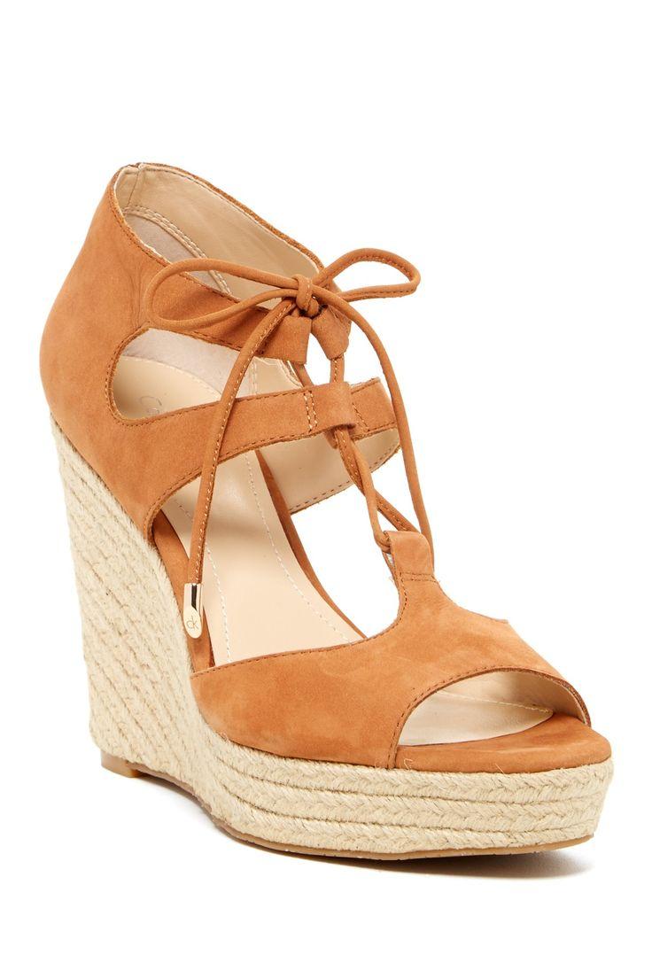 Ganessa Nubuck Leather Sandal//