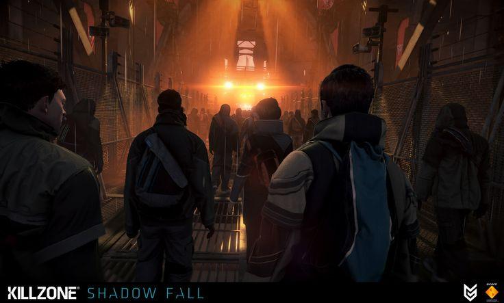 ArtStation - Killzone Shadow Fall, Fabien Christin