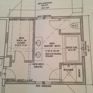 Master Bathroom Dimension Layouts Planning , Key to Get Bathroom dimension Guide In Bathroom Category