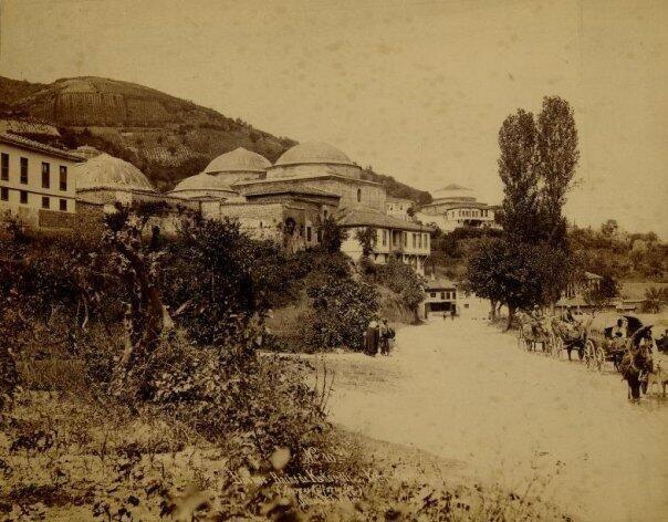 Bursa, 1894-Çelik Palas veya Kükürtlü kaplıcasının altında Yeni Kaplıca ve Armutlu hamamı