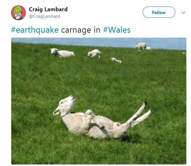 BRITAIN has been hit by its biggest earthquake in a decade – but some Twitter users saw the funny side. The British Geological Society confirmed a 4.4-magnitude earthquakestruck near Swansea…