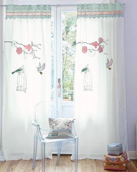 vorhang birdsong curtain pinterest vorh nge wohn esszimmer und esszimmer. Black Bedroom Furniture Sets. Home Design Ideas