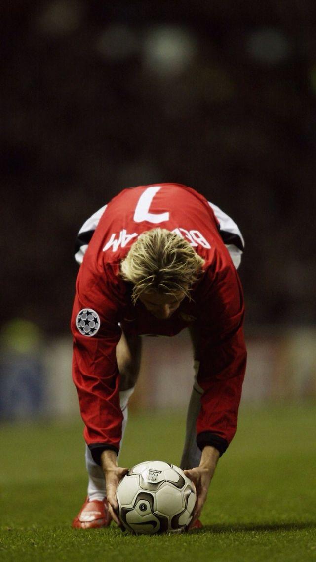 David Beckham freekick master and Manchester United legend