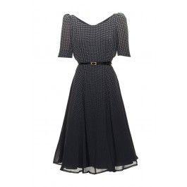 Sukienka RUBEN ciemnogranatowa