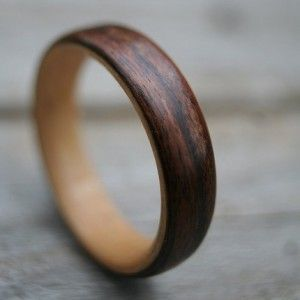 wood wedding rings, wooden wedding trends, society bride trend alert, rose gold wedding bands, rose gold wedding rings. wooden weddings, rus...