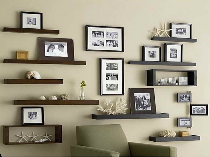 Ideas For DIY Floating Shelves Decorate It Pinterest