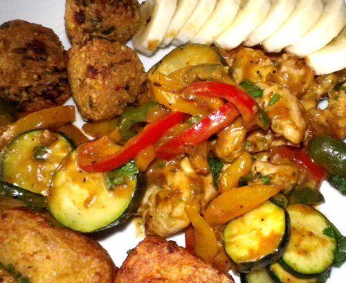 """Spicy Thai Chicken Curry """"Actifry"""" Recipe - Recipezazz.com"""