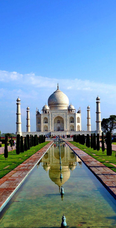 The Taj Mahal, India   |   Complete List of the New 7 Wonders