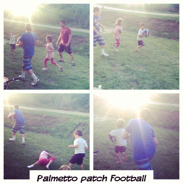 Palmetto Buffalo - great for those winter backyard football matches