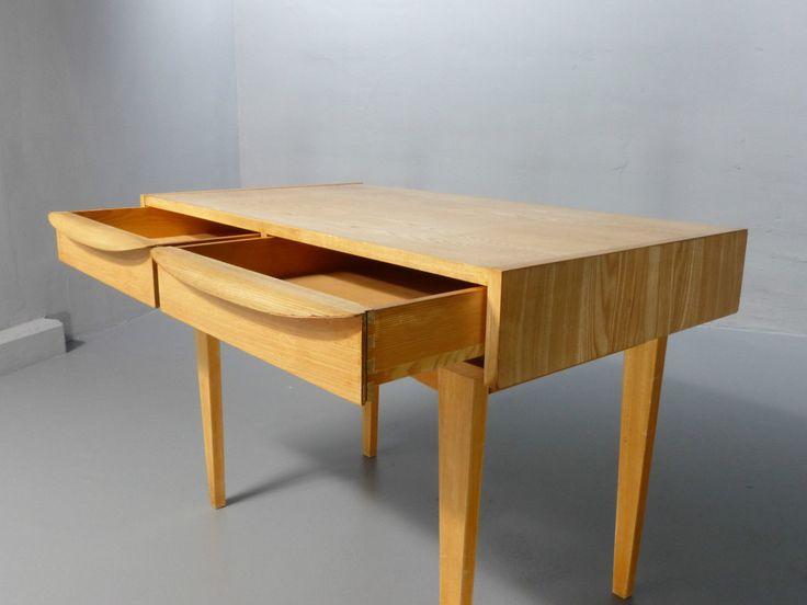 Writing desk 602-C from Franz Ehrlich, 1956, for Deutsche Werkstätten Hellerau
