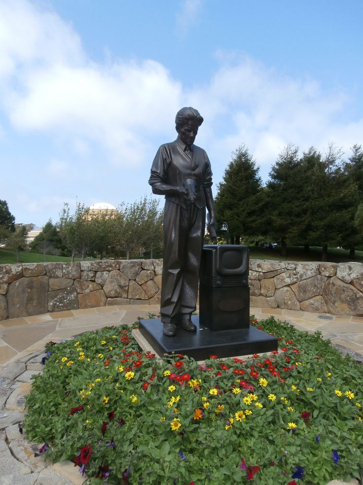 Philo Farnsworth Statue
