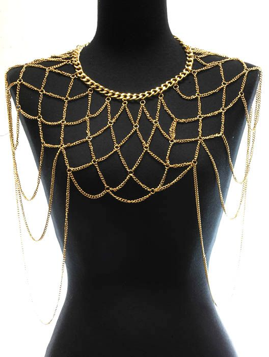 64 best body chain.. images on Pinterest