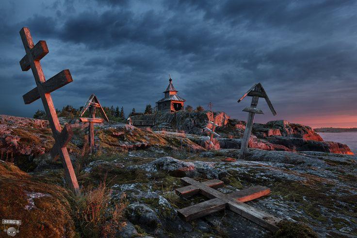 Остров Есусарет, Ладожское озеро, республика Карелия