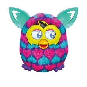 Furby Pink and Blue Hearts Plush Toy Seeing it dancing is an amazing experience. The furby also interacts with other furbys nearby and have real conversations. It's a definite plus for kids (boys and girls) 6+. http://awsomegadgetsandtoysforgirlsandboys.com/furby-boom/ Furby Pink and Blue Hearts Plush Toy