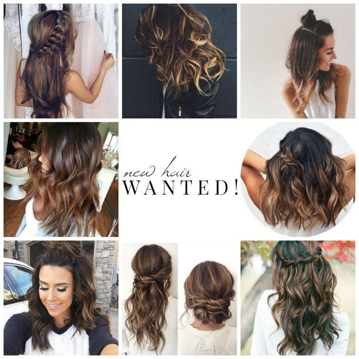 Uudet hiukset kiitos!